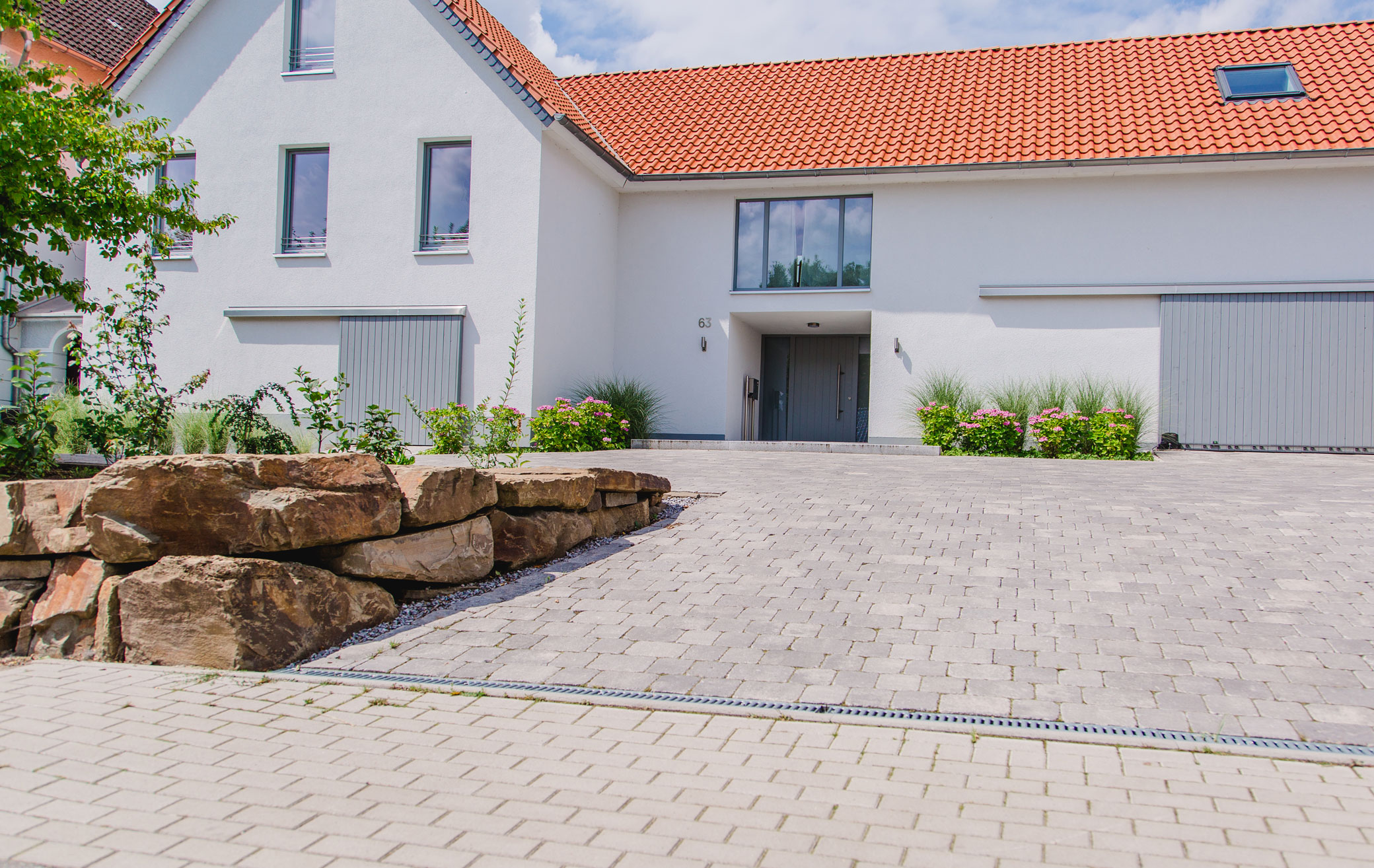 Mauerbau In Lage Lemgo Detmold Gartenlandschaftsbau Schröder