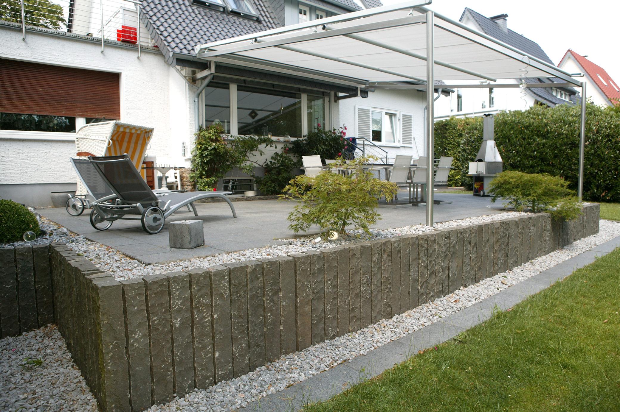 Terrassenbau in lage lemgo detmold - Cottage garten terrasse ...