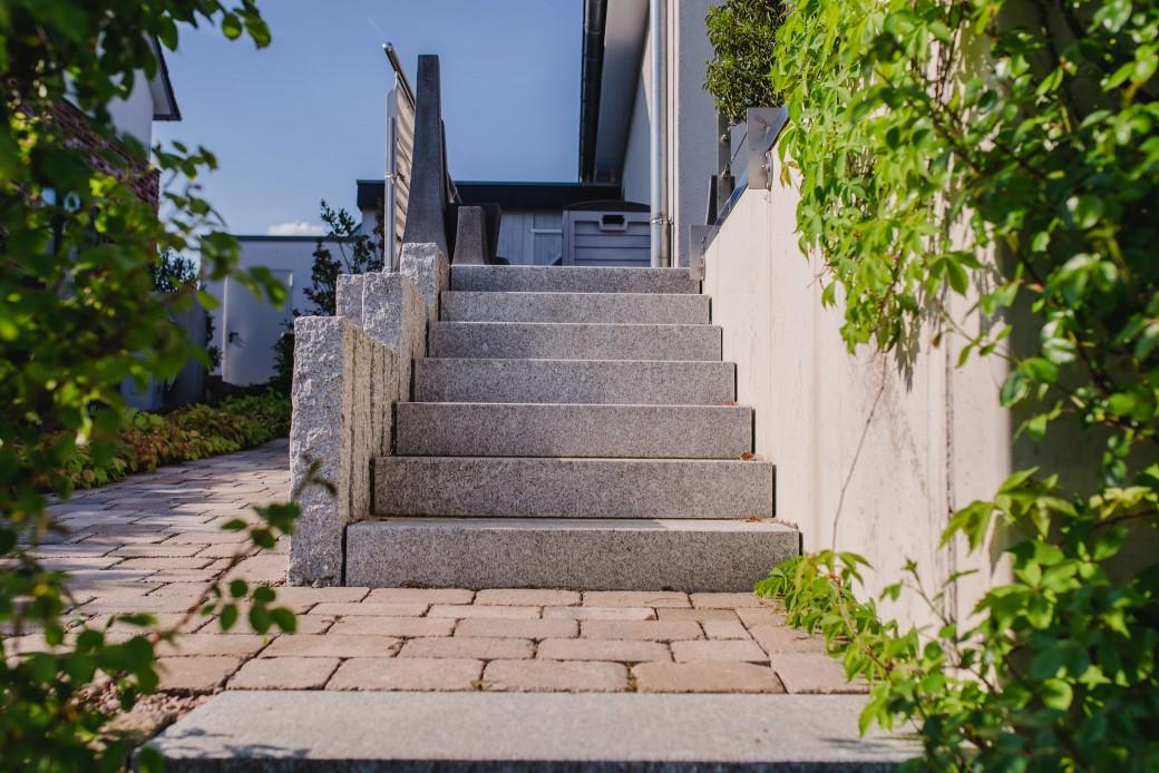 treppenbau in lage lemgo detmold gartenlandschaftsbau schr der. Black Bedroom Furniture Sets. Home Design Ideas