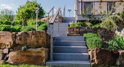 Treppenbau Lage